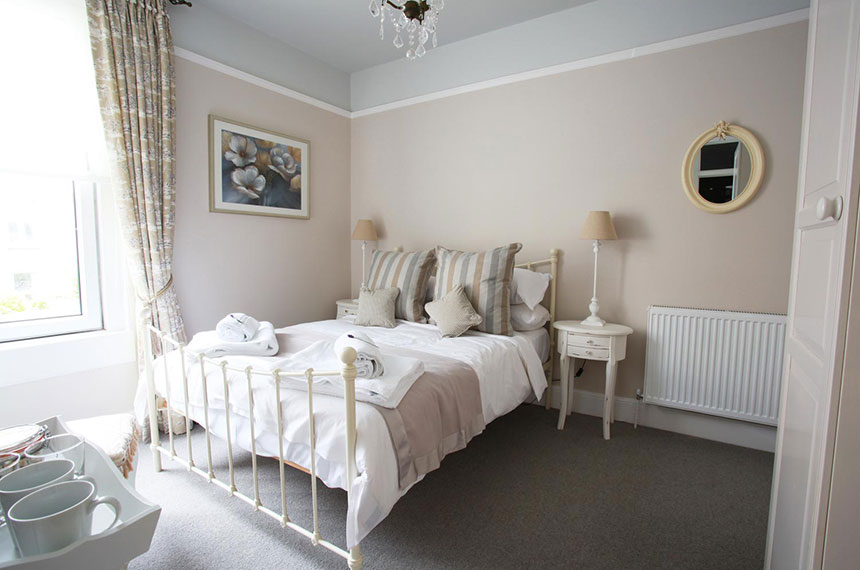 Traditional French styled bedroom at Brindleys B&B